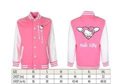 Hello Kitty  Printed College Style Jacket (Adult) ~ $24.99 @ LGL1 Etsy