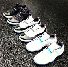 XI Space Jam low & XI Concord low && XI Columbia low