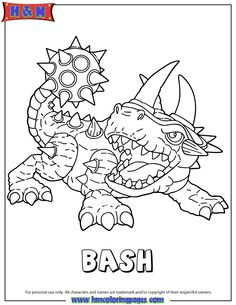 20 Best Skylanders images | Coloring book, Coloring book pages ...
