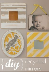 From Plain to Pretty Mirrors | Inspired by FamiliaInspired by Familia
