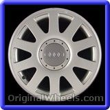 Audi A4 2001 Wheels & Rims Hollander #58737 #Audi #A4 #AudiA4 #2001 #Wheels #Rims #Stock #Factory #Original #OEM #OE #Steel #Alloy #Used