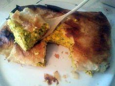 recette tajine malsouka tunisien(gratin au feuille de brik)