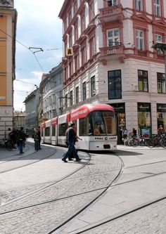 Actually, if Sri Lanka had lanes for only buses to go, and specific buses go on specific routes, then imagine the decrease in traffic + no competing :'( potential Graz Austria, Light Rail, Homeland, Sri Lanka, Places Ive Been, To Go, Around The Worlds, Street View, Europe