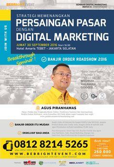 Digital Marketing Training Jakarta, Seminar Internet Marketing Jakarta, Seminar…