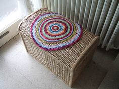 My world of crochet: Stash-Buster # 13: ein rundes Deckchen