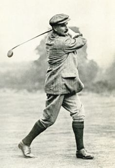 GOLF: Harry Vardon won seven majors, six British Opens and one US Open, between 1896 and 1914.  The PGA of America scoring trophy is named in Vardon's honor.