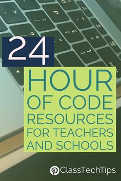 24 Hour of Code Resources #HourofCode | coding | coding lessons | computer science | coding apps | coding videos