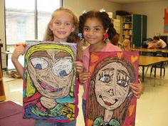 MCPS Art News: Fabulous First Grade!