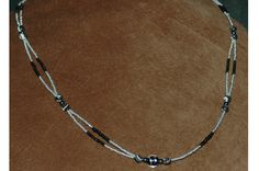 Seed-bead necklace.