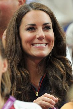 Catherine, Duchess of Cambridge looks on during the Artistic Gymnastics Men's Pommel Horse Final on Day 9 of the London 2012 Olympic Games at North Greenwich Arena on August 5, 2012 in London, England.