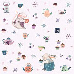 Nina Stajner - https://www.behance.net/gallery/32407511/Tea-Party-Pattern