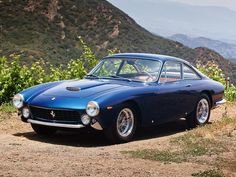1963 Ferrari 250 GT Berlinetta Lusso classic supercar g-t g Vintage Sports Cars, Exotic Sports Cars, Classic Sports Cars, Retro Cars, Exotic Cars, Classic Cars, Lux Cars, Vintage Cars, Maserati