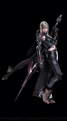 New Final Fantasy XV CG character renders revealed - Nova Crystallis