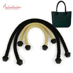 2 pair rope handle for Obag AMbag short long hemp rope handle 70cm 40cm for O EVA BAG women handbag