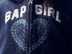Gap Girl Heart
