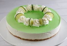 limejuustokakku Finnish Recipes, Sweet Bakery, Food Photo, Cheesecake, Baking, Desserts, Pictures, Cheesecake Cake, Bread Making