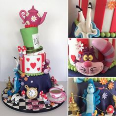 This wonderful tribute to Alice's Adventures in Wonderland.