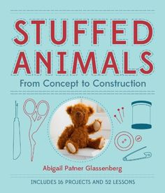 Book for making soft toys by Abigail Patner Glassenberg sa cover.jpg