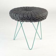 Portuguese designer Daniel Duarte has created the Coterie Stool.