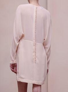 White button dress