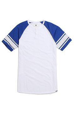 On The Byas Derek Raglan Henley T-Shirt