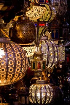 Souks of Marrakech, Morocco