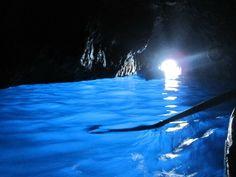 Capri, #Italy - Blue Grotto #travel