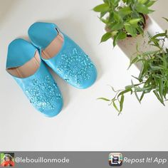 Repost from @lebouillonmode using @RepostRegramApp - Les babouches ! Offertes…