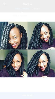 Crochet braids #afrohair #protectivestyling #kiriishchronicles