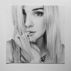 #portrait #artwork #drawing