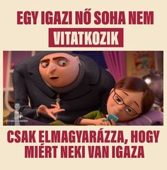 Ebbôl lesz a vita:D Good Jokes, Lol So True, True Words, Really Funny, Positive Quotes, Funny Quotes, Funny Pictures, Memes, Instagram Posts