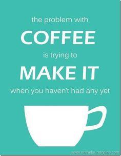 i just tried making coffee & forgot the filter.  FAIL!  @Reghan Knight @Sara Woroniec-Holland