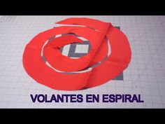 #78 Como hacer vuelos o volantes en espiral - YouTube Fashion Sewing, Girl Fashion, Sewing Sleeves, Sewing Patterns, Fitness, Youtube, Tela, Big Sizes, Ideas
