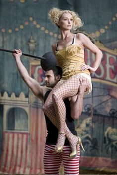 The Look: circus fashion photoshoot