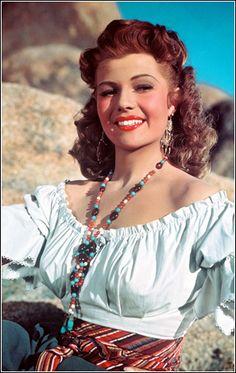 Rita Hayworth - Classic beauty and classic jewelry! Get the look today with #MyClassicJewelry - https://www.etsy.com/shop/MyClassicJewelry