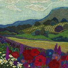 Generic Landscapes - Bright Seed Textiles