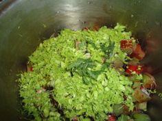 Rhubarb Spruce Tip Jam