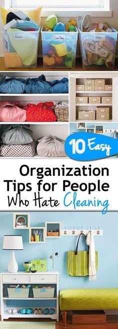 10 Easy Organization