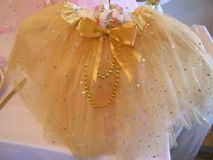 Shimmering Pink & Gold Princess theme party supplies to help you create the perfect birthday celebration. Sparkle Tutus, Tiaras, Wands, Crafts, Games and so many more ideas are what you will find at My Princess Party to Go.