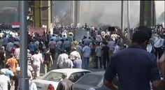 Egipto declara el estado de emergencia tras la matanza de opositores. El vicepresidente dimite/ 14 de agosto de 2013