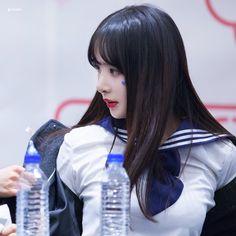 WJSN ♡ SeolA 설아 (Kim Hyunjung 김현정) 떨아야 'I Wish' era 170129 #너에게닿기를 #우주소녀