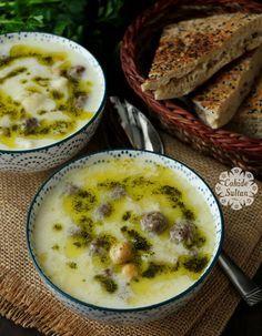 Yöresel çorbalarımızdan lebeniye çorbası