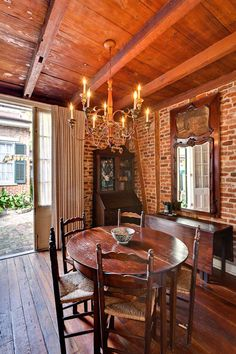 Like the furniture & fixture. John James Audubon's cottage in the French Quarter, New Orleans, Louisiana