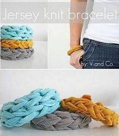 Bohemian Jersey Knit Bracelet