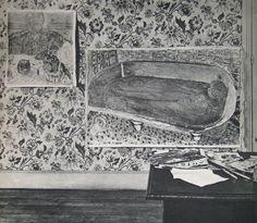 Pierre Bonnard's studio. Verve Magazine, October - December 1938
