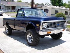 1972 Chevy K20 ~ I want this truck, would trade my 72 Nova for it.