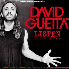 David Guetta: Listen Tour 2015 // 26.06.2015 - 28.06.2015  // 26.06.2015 19:30 HAMBURG/o2 World Hamburg // 27.06.2015 20:00 MÖNCHENGLADBACH/SparkassenPark MG (ehemals HockeyPark) // 28.06.2015 19:30 HANNOVER/TUI Arena
