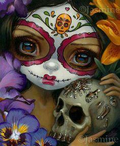 Milagros: La Calavera by Jasmine Becket-Griffith