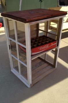 Window table *no instructions but great idea