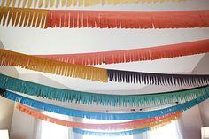 fabric fringe garlands